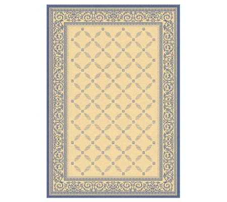 "Safavieh Courtyard Lattice Flower 5'3"" x 7'7"" Rug"