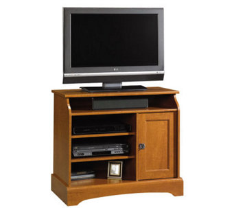 Sauder Graham Hill Highboy TV Stand - Autumn Maple Finish - H182610