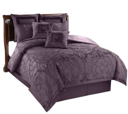 Lorenzo 8 Piece King Comforter Set