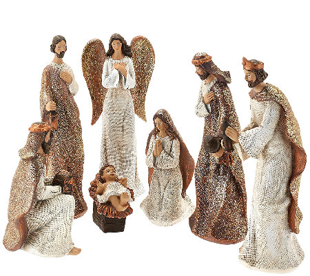 7-piece Nativity Figure Set by Valerie