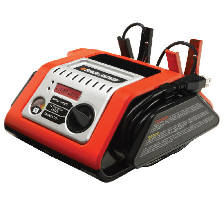 Black & Decker 25-AMP Battery Charger with 75-AMP Engine Star