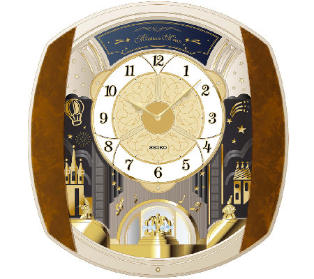 Seiko Marquis Melody in Motion Wall Clock