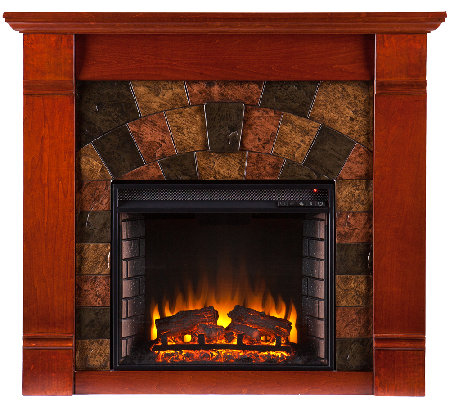 Eddington Electric Fireplace