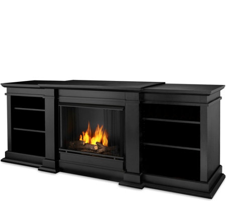 Real Flame Fresno Gel Fuel Entertainment Center& Fireplace