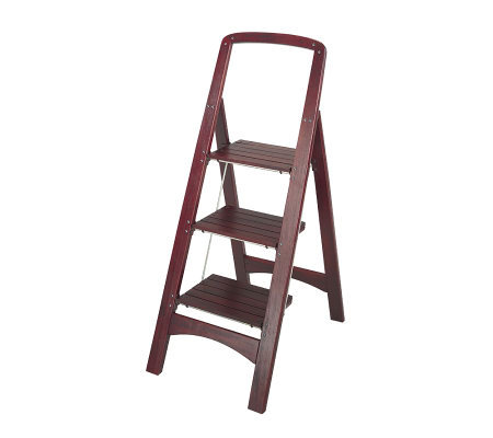 Cosco Three-Step Rockford Wood Step Stool