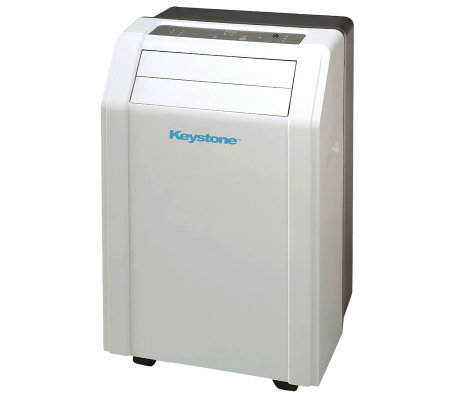 Keystone 14,000 BTU Portable Air Conditioner w/Remote Control