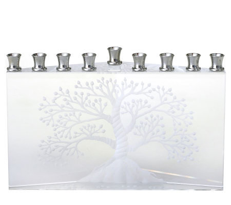 "Copa Judaica Etz Chaim ""Tree of Life"" Menorah"