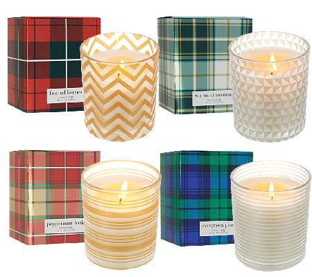 ED On Air 9.5oz. Set of 4 Candles with Gift Boxes by Ellen DeGeneres