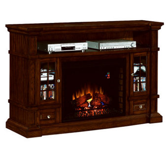 ChimneyFree Belmont Media Mantel Fireplace Infrared Heater - H282411