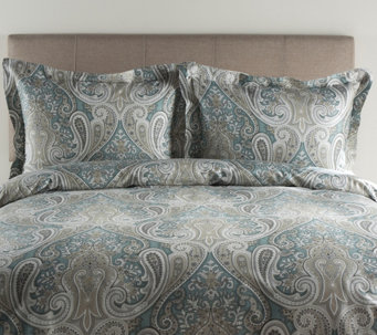 100% Cotton Crystal Palace King Duvet Cover andShams Set - H287311