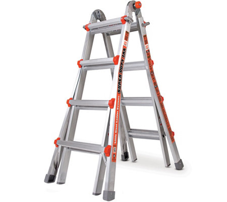 Little Giant Super Duty 24-in-1 Adjustable Multipurpose Ladder