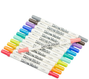Tim Holtz Distress Marker 12-Piece Tube Set - H288711