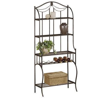 Hillsdale Furniture Camelot Baker S Rack Page 1 Qvc Com