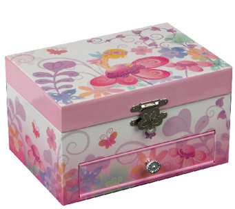 "Mele & Co. ""Ashley"" Musical Ballerina Jewelry Box - H179712"