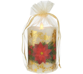 "5.5"" Mirage Holiday Candle with Gift Bag by Candle Impressions - H208412"