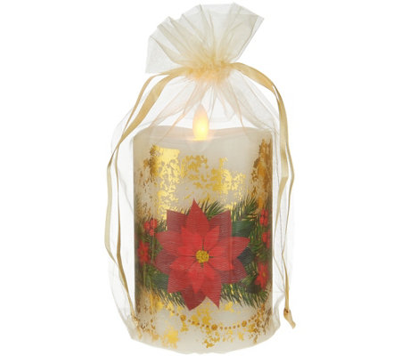 "5.5"" Mirage Holiday Candle with Gift Bag by Candle Impressions"