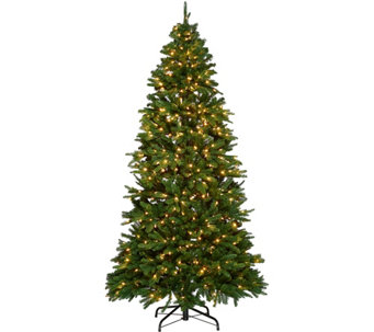Ultima 5'-7.5' Convertible Size Tree w/ Color Changing LED Lights - H210512