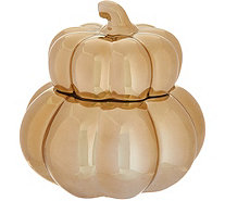 HomeWorx by Harry Slatkin Ceramic Gourd Candle - H211412