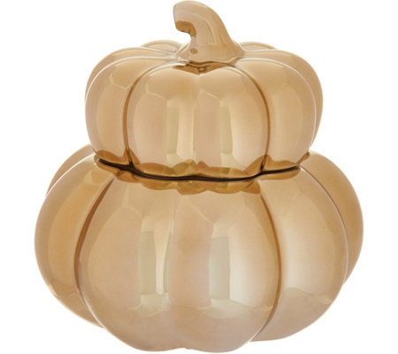 HomeWorx by Harry Slatkin Ceramic Gourd Candle