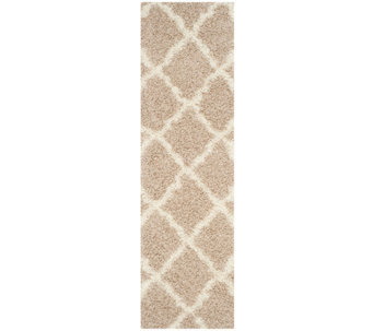 "Dallas Shag 2'3"" x 8' Runner Rug by Safavieh - H286012"