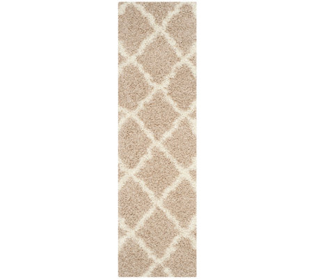"Dallas Shag 2'3"" x 8' Runner Rug by Safavieh"