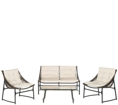 Safavieh Berkane 4-Piece Outdoor Set