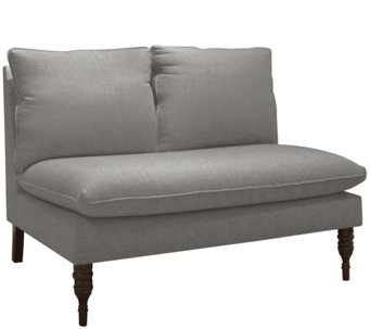 Skyline Furniture Linen Armless Pillow-Topped Love Seat - H288912