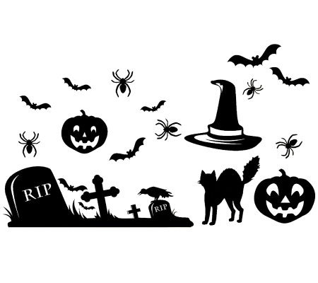 Halloween Icon Giant Wall Decals