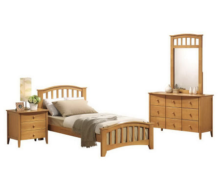 San Marino Twin Bedroom Set By Acme Furniture
