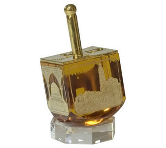 Copa Judaica Scenes of Old Jerusalem Dreidel - H145013