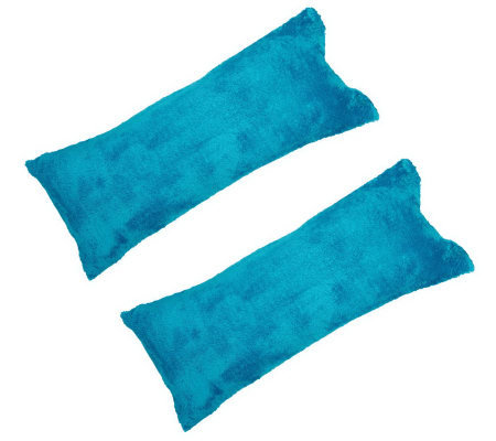 Set of 2 Posh Body Pillows in Fashion Colors