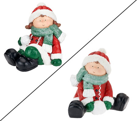 "Choice of Decorative ""Snowbuddy"" Figure"