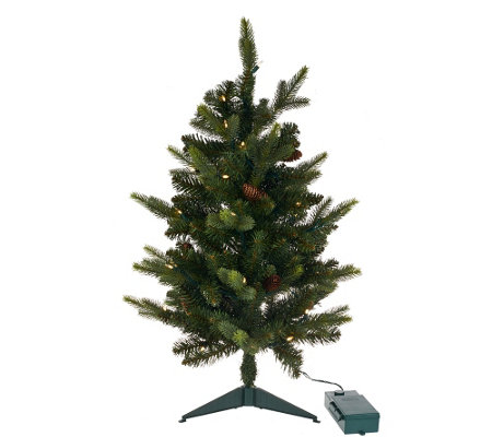 "Bethlehem Lights 15th Anniversary 30"" Prelit Stake Tree"