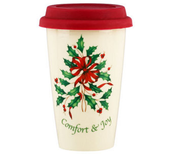 Lenox Holiday Comfort & Joy Travel Mug - H281813