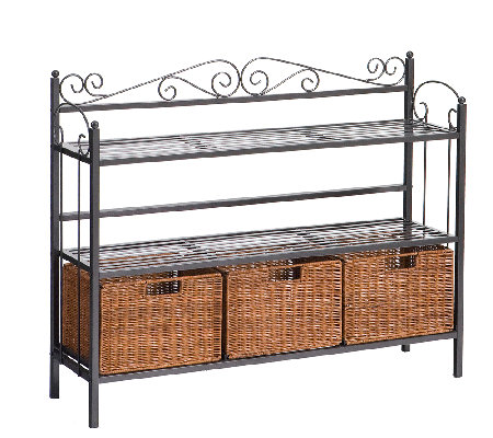 Normandy Metal Baker's Rack