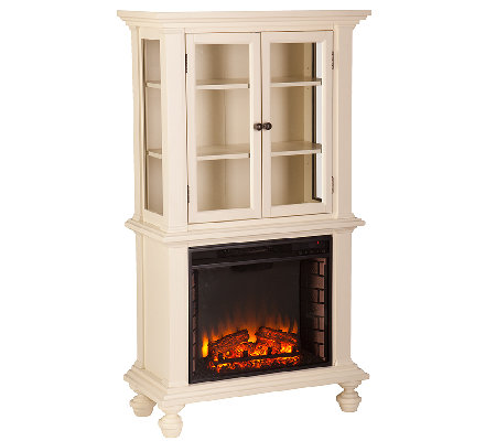 Dylan Electric Fireplace Curio