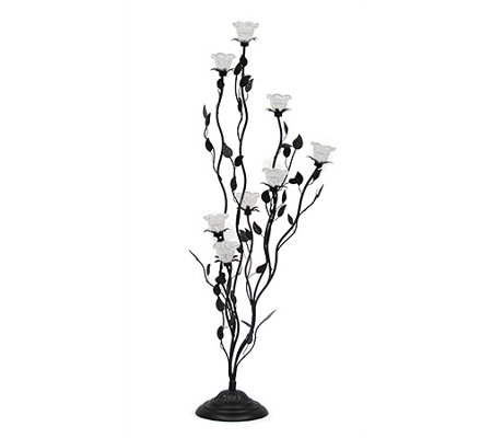 Exhart Indoor/Outdoor LED Flower Lamp