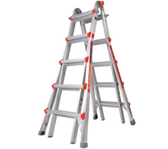 Little Giant Super Duty 33-in-1 Adjustable Multipurpose Ladder - H287813