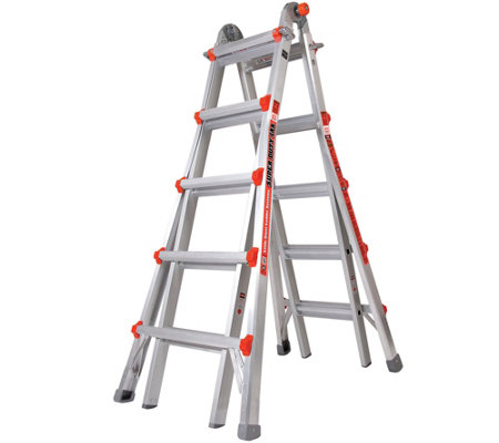 Little Giant Super Duty 33-in-1 Adjustable Multipurpose Ladder