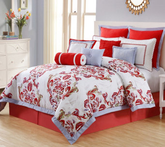 VCNY Home Luciana 11-Piece Queen Comforter Set - H289713