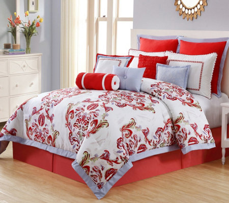 VCNY Home Luciana 11-Piece Queen Comforter Set