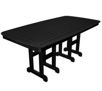 "POLYWOOD Nautical 37"" x 72"" Dining Table - H349913"