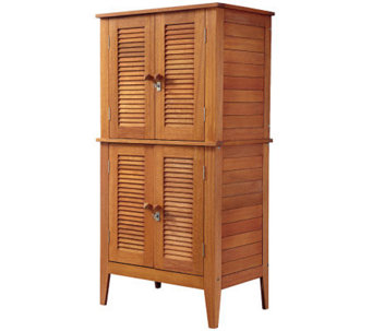 Home Styles Montego Bay Four Door Storage Cabinet - H367913