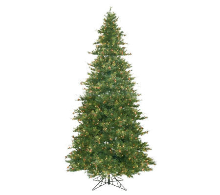 12' Prelit Slim Mixed Country Pine Tree by Vickrman
