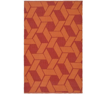 Thom Filicia 6' x 9' Danforth Recycled PlasticOutdoor Rug - H186514