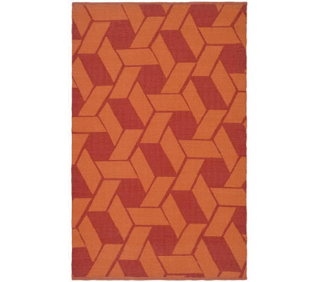 Thom Filicia 6' x 9' Danforth Recycled PlasticOutdoor Rug
