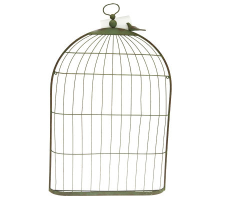 Home Reflections Bird Cage Photo & Memo Holder