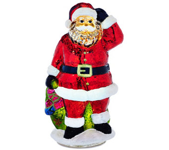 Kringle Express Illuminated Mercury Glass Holiday Characters - H209414