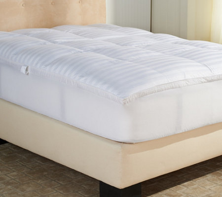 "Northern Nights King Ultra Feather Bed w/ Handles and 2"" Gusset"