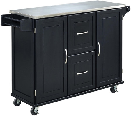 Home Styles Patriot Kitchen Cart — QVC